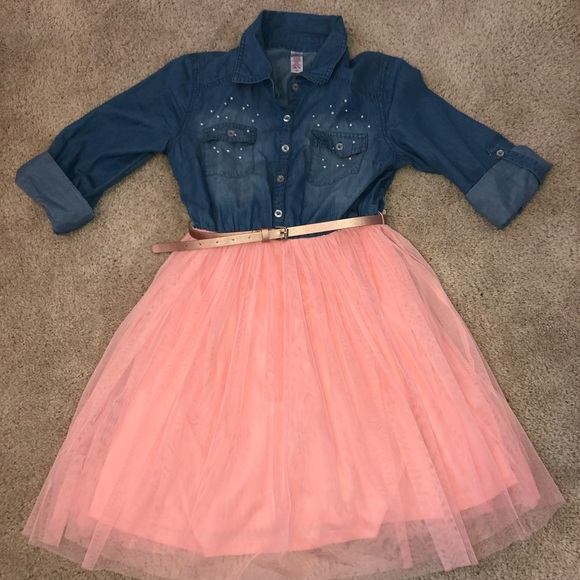 Justice Other - Justice tulle/jean dress